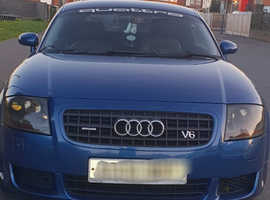Audi TT, 2004 (04) Blue Coupe, semi- Automatic Petrol, 102,000 miles