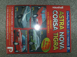 VAUXHALL ASTRA, CORSA, NOVA, TIGRA, LYNDSAY PORTER WORKSHOP MANUAL