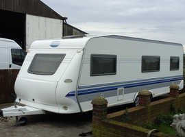 28ft hobby caravan for sale