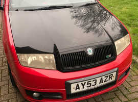 Skoda Fabia, 2003 (53) Red Hatchback, Manual Diesel, 231,340 miles
