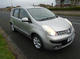 Nissan Note, 2006 (56) Silver MPV, Manual Petrol, 72,000 miles