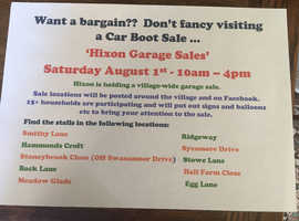 Hixon Village Garage Sales