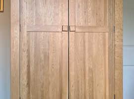 Oak Double Wardrobe for Sale