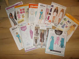 Ladies assorted dressmaking patterns
