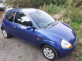 Ford Ka New Mot 1299cc history drives fine.