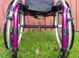 Quickie Argon Lightweight Active Wheelchair