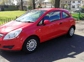 VAUXHALL CORSA 1L, 2010 REG, LONG MOT, FULL HISTORY, ONLY 69,000 MILES & ONLY £30 A YEAR TAX