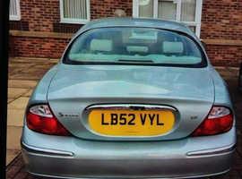 Jaguar S-TYPE, 2003 (52) Silver Saloon, Automatic Petrol, 82,000 miles