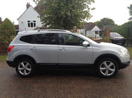 NISSAN QASHQAI+2 1.6 Acenta 5dr 2010 7 seater 7 months mot recently serviced 1 LADY OWNER SINCE 2010