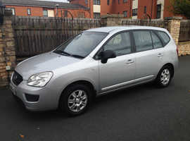 KIA CARENS 2008 REG, LONG MOT, ONLY 2 OWNER FROM NEW NICE SPEC WITH ALLOYS & AIR CON