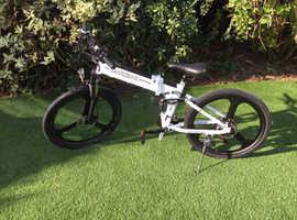 Brand new 48v folding electric bike SAMEBIKE LO26 21 speed