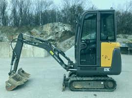 2014 Volvo EC15C Mini Excavator
