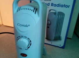 New Crystals Economical Oil Filled Radiator