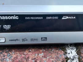Panasonic HD DVD player recorder with remote manual