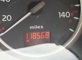 Renault Clio, 2002 (02) Silver Hatchback, Manual Diesel, 118,600 miles