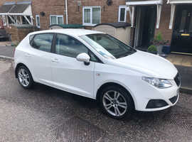 Seat Ibiza, 2009 (59) White Hatchback, Manual Petrol, 47,000 miles