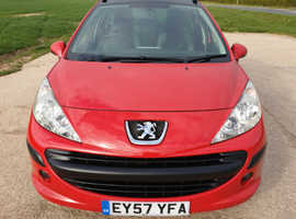 PEUGEOT 207 SW 1.6 HDI 2007 (57) 12 MONTHS M.O.T
