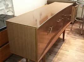 vintage retro formica sideboard
