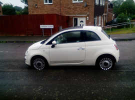 Fiat 500, 2011 (11) White Hatchback, Manual Petrol, 41,000 miles