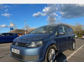 Volkswagen Touran, 2012 (12) Blue MPV, Manual Diesel, 116,540 miles