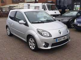 Renault Twingo, 2008 (57) Silver Hatchback, Manual Petrol, 123,837 miles