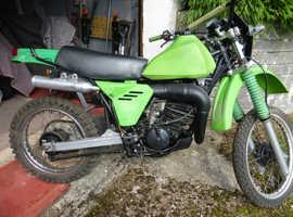 Classic 1983 Kawasaki KDX 175 Collectors Bike