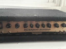 Peavey 4x10 Bass Cabinet & Behringer Ultra Bass 4500 Amp Cab