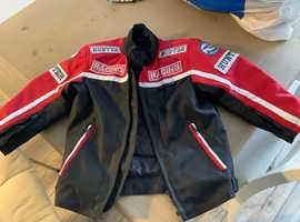 Child's motor bike jacket