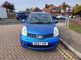 Nissan Note, 2007 (57) Blue MPV, Automatic Petrol, 66,400 miles