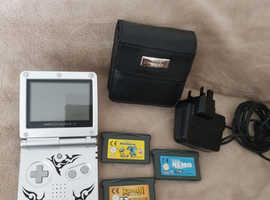 Nintendo Game Boy Advance SP Tribal edition ORIGINAL