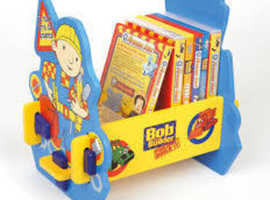 Bob the builder DVD cd shelf for kids