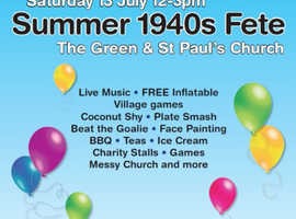 Fete and Fun Day - The Green Tadley