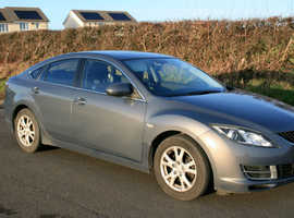 Mazda MAZDA 6, 2008 (08) grey hatchback, Manual Diesel, 122,000 miles