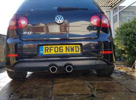 Volkswagen Golf, 2006 (06) Black Hatchback, Manual Petrol, 135,000 miles