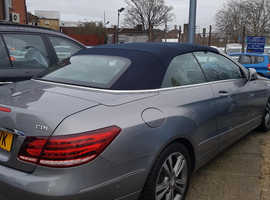 Mercedes E Class, 2014 (14) Silver Saloon, Automatic , 79,000 miles
