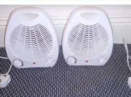2 x Electrotec Fan Heater 2000w