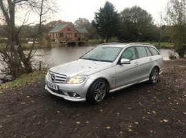 Mercedes C CLASS, 2011 (11) Silver Estate, Automatic Diesel, 141,000 miles