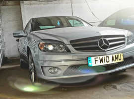 Mercedes CLC-CLASS, 2010 (10) Silver Coupe, Automatic Petrol, 85,000 miles