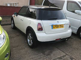 Mini MINI, 2008 (08) White Hatchback, Automatic Diesel, 52,038 miles