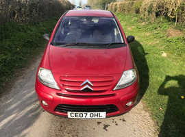 Citroen C3, 2007 (07) Red Hatchback, Manual Petrol, 62,837 miles