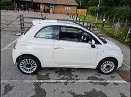 Fiat 500, 2012 (62) White Hatchback, Manual Petrol, 76,862 miles