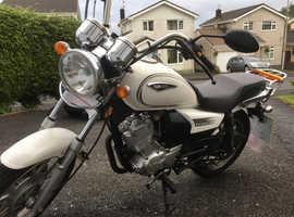 FOR SALE - Excellent learner legal 125cc, new MOT