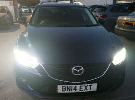 Mazda MAZDA 6, 2014 (14) blue estate, Manual Diesel, 67,000 miles