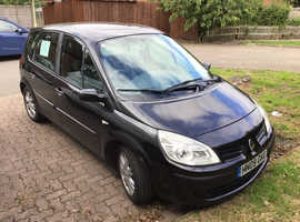 Renault Megane, 2009 (09) Black MPV, Manual Diesel, 131,000 miles