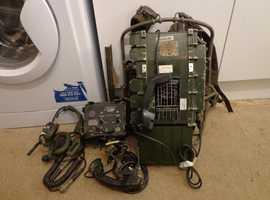 Racal RT 320 field manpack