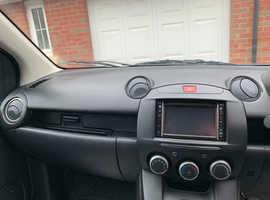 Mazda MAZDA 2, 2012 (12) Black Hatchback, Manual Petrol, 69,000 miles