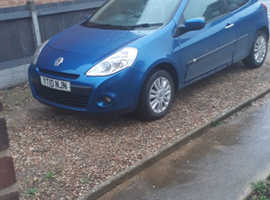Renault Clio, 2010 (10) Blue Hatchback, Manual Petrol, 121,000 miles