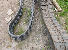 FOR SALE MINI DIGGER TRACKS £300 THE PAIR