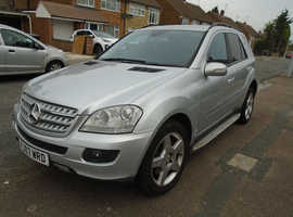 Mercedes ML 420, AMG, 2007 (07) Silver Estate, Automatic Diesel, 118,000 miles