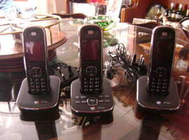 3 home phones very good condition